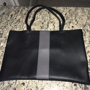 Vince Camino Black striped Tote